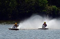Frame 17: 40-M rides up the rooster tail of 20-M    (Outboard Hydroplane)