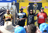 NHRA Mello Yello Drag Racing Series<br /> Summit Racing Equipment NHRA Nationals<br /> Summit Racing Equipment Motorsports Park, Norwalk, OH USA<br /> Sunday 25 June 2017 .R. Todd, DHL, Funny Car, Shawn Langdon, Global Electronic Technology, Top Fuel Dragster, Alexis Dejoria, Patron, Funny Car, Doug Kalitta, Mac Tools, Top Fuel Dragster<br /> <br /> World Copyright: Will Lester Photography