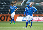 Kilmarnock v St Johnstone…09.04.16  Rugby Park, Kilmarnock<br />Danny Swanson reacts after conceding the second goal<br />Picture by Graeme Hart.<br />Copyright Perthshire Picture Agency<br />Tel: 01738 623350  Mobile: 07990 594431