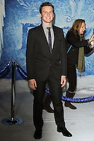 """HOLLYWOOD, CA - NOVEMBER 19: Johnathan Groff at the World Premiere Of Walt Disney Animation Studios' """"Frozen"""" held at the El Capitan Theatre on November 19, 2013 in Hollywood, California. (Photo by David Acosta/Celebrity Monitor)"""