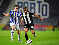 20th December 2020; Dragao Stadium, Porto, Portugal; Portuguese Championship 2020/2021, FC Porto versus Nacional; Mateus Uribe of FC Porto and Kenji Gorré of Nacional