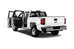 Car images of 2018 Chevrolet Silverado-1500 1LS-Crew-Cab-Short-Box 4 Door Pickup Doors