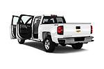 Car images of 2018 Chevrolet Silverado-1500 1LS-Crew-Cab-Short-Box 4 Door Pickup Doors