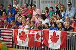 Toronto 2015 - Goalball.<br /> Canada's women's Goalball team plays in the bronze medal game // L'équipe féminine de goalball du Canada participe au match pour la médaille de bronze. 14/08/2015.