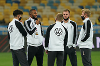 Kai Havertz (Deutschland, Germany), Jonathan Tah (Deutschland Germany), Timo Werner (Deutschland Germany), Torwart Bernd Leno (Deutschland Germany), Julian Brandt (Deutschland Germany)<br /> - 10.10.2020: Ukraine vs. Deutschland, UEFA Nations League, 3. Spieltag, Olympiastadion Kiew <br /> DISCLAIMER: DFB regulations prohibit any use of photographs as image sequences and/or quasi-video.