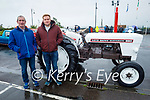 Attending the Blennerville Car and Tractor Run fundraiser for Kerry Hospice on Sunday, l to r: Willie and Liam Flavin from Knockanure