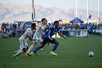 SAN JOSE, CA - AUGUST 8: Jeremy Ebobisse #11 during a game between Los Angeles FC and San Jose Earthquakes at PayPal Stadium on August 8, 2021 in San Jose, California.