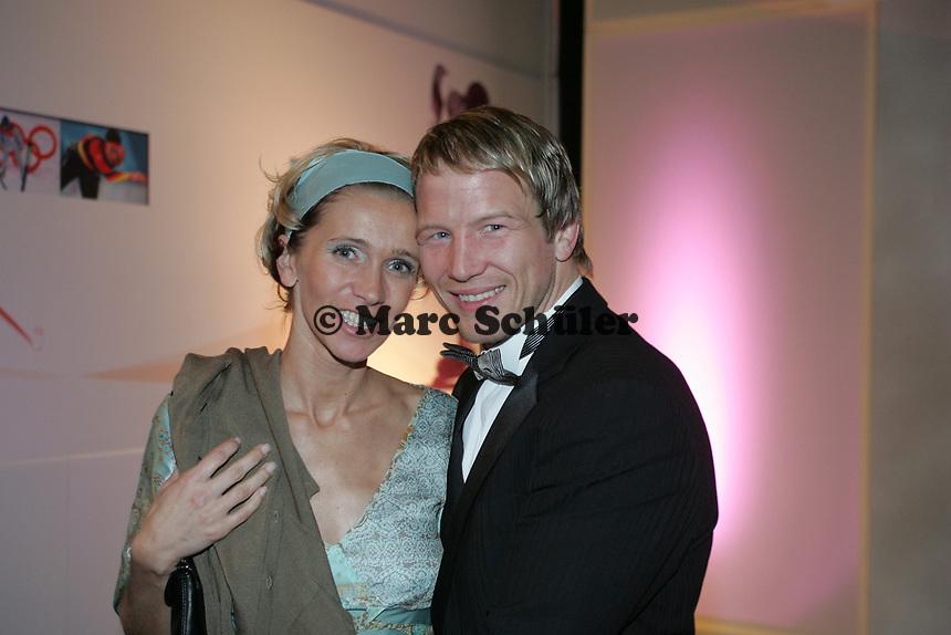 Ringer Alexander Leipold mit Frau