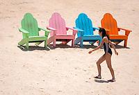 Beach scene near Mactan island Cebu, Philippines