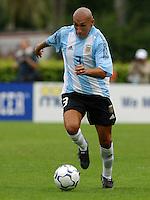 Pablo Gui–azœ, Argentina vs. USA, Miami, Fla.