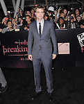 Robert Pattinson  attends The Los Angeles premiere of Summit Entertainment's THE TWILIGHT SAGA: BREAKING DAWN PART 1 HELD AT Nokia Theatre at L.A. Live in Los Angeles, California on November 14,2011                                                                               © 2010 DVS / Hollywood Press Agency