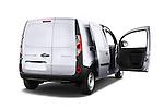 Rear three quarter door view of a 2013 - 2014 Renault Kangoo Express Maxi 5 Door Mini Mpv.