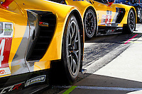 Corvette Racing, Brickyard Grand Prix, Indianapolis Motor Speedway, Indianapolis, Indiana, July 2014.  (Photo by Brian Cleary/www.bcpix.com)