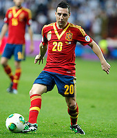 Spain's Santi Cazorla during international match of the qualifiers for the FIFA World Cup Brazil 2014.March 22,2013.(ALTERPHOTOS/Victor Blanco)