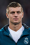 Toni Kroos of Real Madrid prior to the UEFA Champions League 2017-18 match between Real Madrid and Tottenham Hotspur FC at Estadio Santiago Bernabeu on 17 October 2017 in Madrid, Spain. Photo by Diego Gonzalez / Power Sport Images