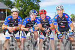 Billy O'Connor, Denis Lynch, John O'Sullivan, and Donie Kelliher Sliabh Luachra who participated at the Cycling County Championships in Kilcummin on Saturday