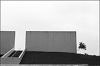 """From """"Miami in Black and White"""" series.<br /> Bayside park, Downtown Miami, FL"""