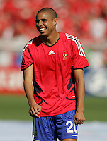 David Trezeguet of France. France and Switzerland played to a 0-0 tie in their FIFA World Cup Group G match at the Gottlieb-Daimler-Stadion, Stuttgart , Germany, on Tuesday, June 13, 2006.