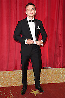 Perry Glasspool<br /> arrives for the British Soap Awards 2016 at Hackney Empire, London.<br /> <br /> <br /> ©Ash Knotek  D3124  28/05/2016