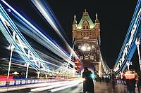 Tower Bridge in long exposition on Juanary 28, 2019, in London, UK. (Photo by Adamo Di Loreto/BuenaVista*photo)