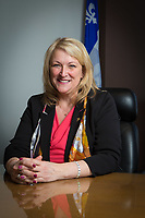 MNA for Anjou-Louis-Riel and Deputy Premier of Quebec Lise Theriault is pictured in Quebec city April 20, 2016.<br /> <br /> PHOTO :  Francis Vachon - Agence Quebec Presse