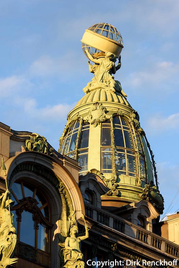 Singerhaus, Newski Prospekt 28, St. Petersburg, Russland, UNESCO-Weltkulturerbe