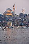Suleymaniye Camii, Mosque, Golden Horn, Istanbul, Turkey