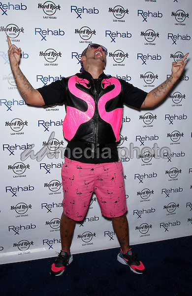31 May 2015 - Las Vegas, Nevada -  Riff Raff.  Riff Raff hosts at REHAB at the Hard Rock Hotel and Casino.  Photo Credit: MJT/AdMedia