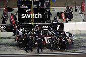 NASCAR Camping World Truck Series <br /> Lucas Oil 150<br /> Phoenix Raceway, Avondale, AZ USA<br /> Friday 10 November 2017<br /> Noah Gragson, Switch Toyota Tundra, pit stop<br /> World Copyright: Michael L. Levitt<br /> LAT Images