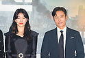"Press preview of new Korean movie ""Ashfall"" in Seoul"
