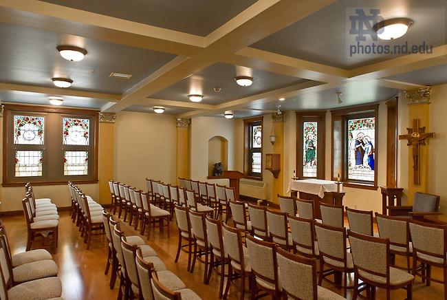 Apr. 25, 2013; Walsh Hall Chapel..Photo by Matt Cashore/University of Notre Dame