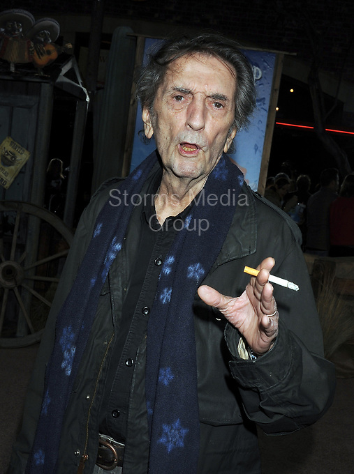 WESTWOOD, CA - FEBRUARY 14: Harry Dean Stanton at the Los Angeles premiere of 'Rango' held at Regency Village Theatre on February 14, 2011 in Westwood, California<br /> <br /> People:  Harry Dean Stanton
