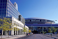 stadium, sports arena, Buffalo, New York, NY, Marine Midland Arena