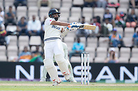 Mohammad Shami, India pulls a short delivery behind square for runs during India vs New Zealand, ICC World Test Championship Final Cricket at The Hampshire Bowl on 23rd June 2021