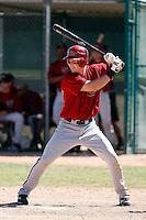Bobby Borchering - Arizona Diamondbacks 2009 Instructional League .Photo by:  Bill Mitchell/Four Seam Images..