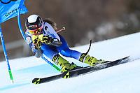 18th February 2021; Cortina d'Ampezzo, Italy; FIS Alpine World Ski Championships  Cortina Women's Giant Slalom; Nuria Pau (ESP)