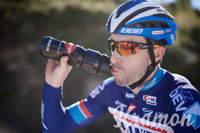 Kenny De Haes (BEL/Wanty-Groupe Gobert)<br /> <br /> Pro Cycling Team Wanty-Groupe Gobert <br /> <br /> Pre-season Training Camp january 2016
