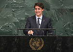 72 General Debate – 20 September <br /> <br /> by His Excellency Justin Trudeau, Prime Minister of Canada