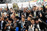 PORTO ALEGRE, RS, 23.05.2021 - GREMIO - INTERNACIONAL - O Grêmio é Campeão Gaúcho2021, na partida entre Grêmio e Internacional, pela final do Campeonato Gaúcho 2021, no estádio Arena do Grêmio, em Porto Alegre, neste domingo (23).