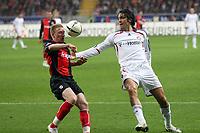 Patrick Ochs (Eintracht) klaert vor Luca Toni (Bayern)<br /> Eintracht Frankfurt vs. FC Bayern Muenchen, Commerzbank Arena<br /> *** Local Caption *** Foto ist honorarpflichtig! zzgl. gesetzl. MwSt. Auf Anfrage in hoeherer Qualitaet/Aufloesung. Belegexemplar an: Marc Schueler, Am Ziegelfalltor 4, 64625 Bensheim, Tel. +49 (0) 6251 86 96 134, www.gameday-mediaservices.de. Email: marc.schueler@gameday-mediaservices.de, Bankverbindung: Volksbank Bergstrasse, Kto.: 151297, BLZ: 50960101