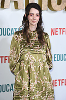 "Tanya Reynolds<br /> arriving for the ""Sex Education"" season 2 launch at Genesis Cinema Mile End Road, London.<br /> <br /> ©Ash Knotek  D3547 08/01/2020"