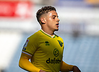 12th September 2020 The John Smiths Stadium, Huddersfield, Yorkshire, England; English Championship Football, Huddersfield Town versus Norwich City;  Max Aarons of Norwich City