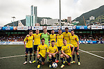 Sunderland vs Kitchee during the Day 2 of the HKFC Citibank Soccer Sevens 2014 on May 24, 2014 at the Hong Kong Football Club in Hong Kong, China. Photo by Xaume Olleros / Power Sport Images