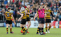 Friday 17th March 2017 | ULSTER SCHOOLS CUP FINAL<br /> <br /> Referee Oisin Quinn during the Ulster Schools Cup Final between RBAI and MCB at Kingspan Stadium, Ravenhill Park, Belfast, Northern Ireland.<br /> <br /> Photograph by John Dickson | www.dicksondigital.com