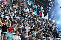 St. Paul, MN - Saturday June 29, 2019: Minnesota United FC played FC Cincinnati in a Major League Soccer (MLS) game at Allianz Field Final score Minnesota United 7, FC Cincinnati 1