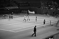 1975, ABN Tennis Toernooi, Arthur Ashe and Stan Smith