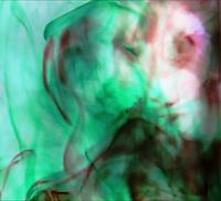 Color.  Fluid.  Liquid.  Light.  A face, a dream, floats.  Ethereal.