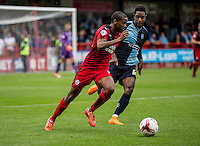 Lewis Young of Crawley Town during the Sky Bet League 2 match between Crawley Town and Wycombe Wanderers at Checkatrade.com Stadium, Crawley, England on 29 August 2015. Photo by Liam McAvoy.