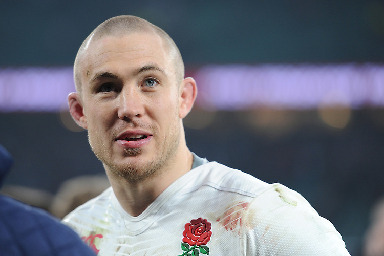 Mike Brown of England during the RBS 6 Nations match between England and Wales at Twickenham Stadium on Saturday 12th March 2016 (Photo: Rob Munro/Stewart Communications)
