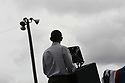President Barack Obama speaks to an enthusiastic crowd during a Labor Day event in the shadow of the GM Renaissance Center in Detroit, Monday, Sept. 5, 2011